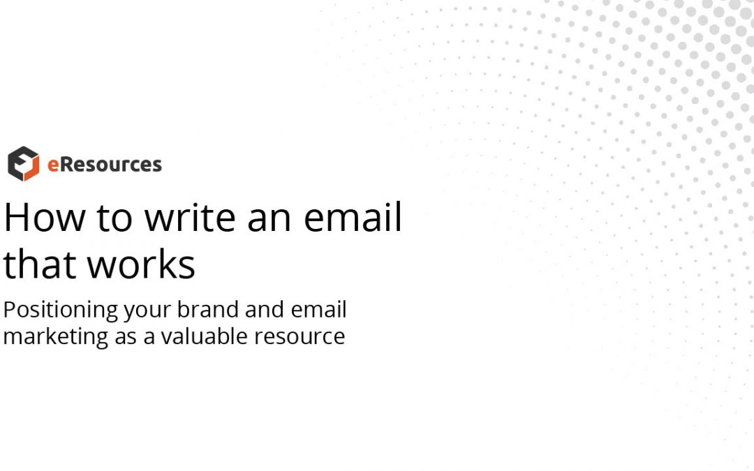 How to Write an Email that Works